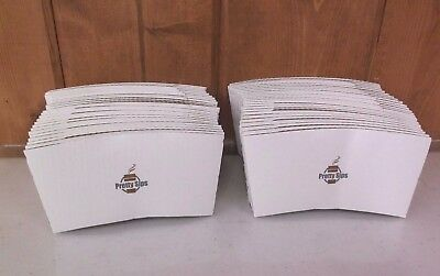 50 Count Hot Coffee Cup Beverage Sleeves ~ New