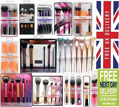 New Real Techniques Makeup Brushes Core Collection Starter Kit Sam's Nic's Picks