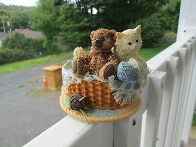 "San Francisco Music Box Company - Cat & Teddy Bear - ""My Favorite Things"" Tune"