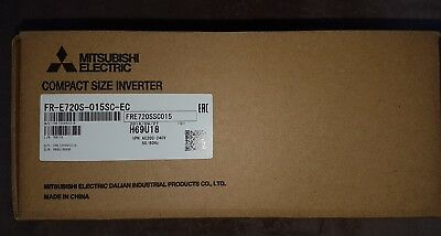 Mitsubishi FR-E720S Inverter Drive 0.2 kW (Post to United Kingdom Only)