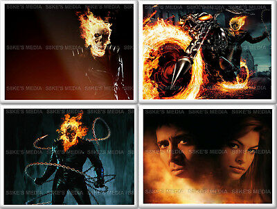 Ghost Rider Fridge Magnet 50mm x 35mm