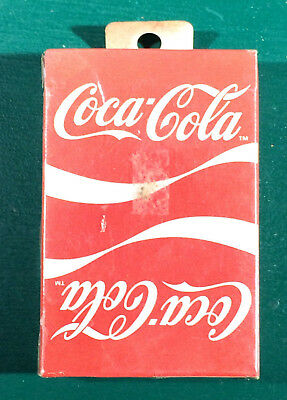 NOS Vintage Sealed Coca-Cola Playing Cards