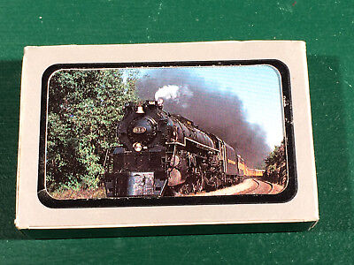 NOS Train Picture Sealed Playing Cards