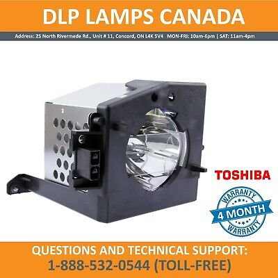 ORIGINAL Toshiba TB25-LMP | 23311083 Replacement TV Lamp with Housing