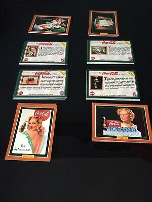 1994 1995 Coca Cola Series 2 And 4 Trading Cards Incomplete Sets