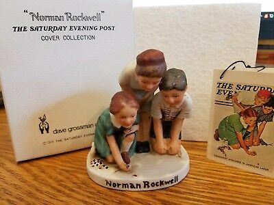 """Norman Rockwell """"Marble Players"""" NR-211"""