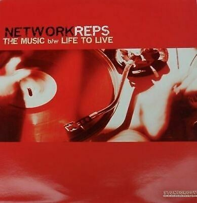 "Network Reps ""The Music"" Hip Hop Record 12 Vinyl LP"