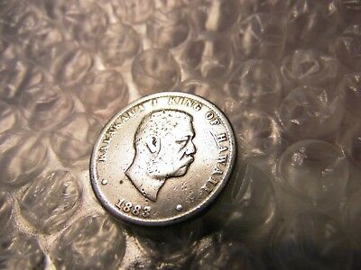 Hawaii 1883 King Kalakaua 1/4 Dollar Silver Coin On Sale Save Even More $$$