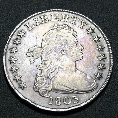 1803 Large 3 Draped Bust Silver Dollar Heraldic Eagle -PRICE REDUCED-