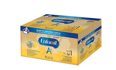 Enfamil A+ Baby Formula, Ready to Feed Case, 237ml, 18 pack