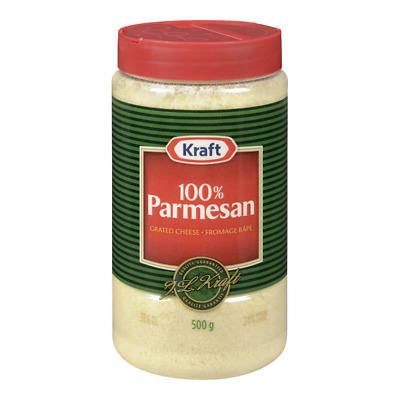 KRAFT Grated Parmesan Cheese, Pack of 1, 500g