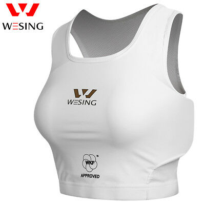 Wesing Women Karate Chest Guard Female Karate Chest Protector Approved Wkf