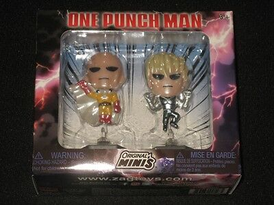 NIP One-Punch Man Figure 2-pack Minis Anime Loot Crate July 2017