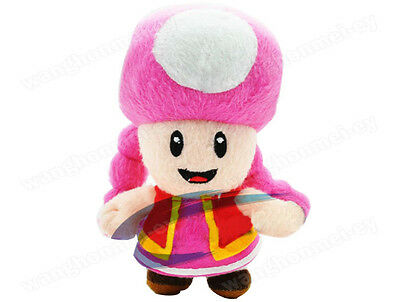 7inch Super Mario Bros Toadetie Soft Plush Doll Kids Toys Xmas Gifts
