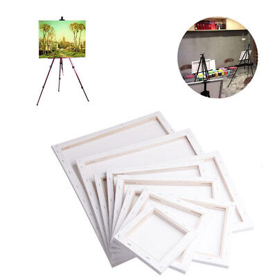 Blank Square Canvas Board Wooden Frame For Art Artist Oil Acrylic Paints Natural