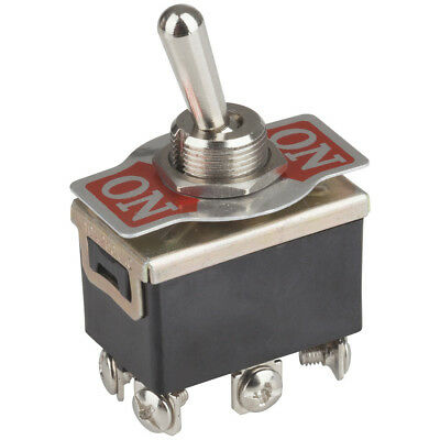 NEW DPDT 6A 250VAC Extra Heavy Duty Toggle Switch ST0575
