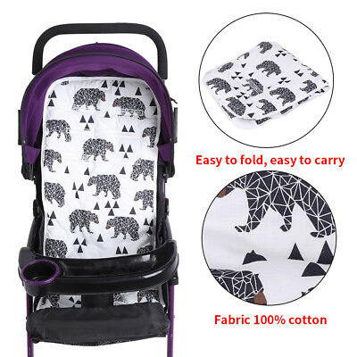 6Types Baby Childs Baby-buggy Stroller Pushchair Seat Soft Liner Cushion Mat Pad
