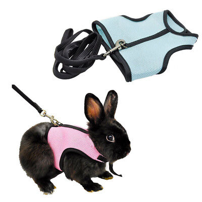 Harness Leash Lead For Hamster Rabbit Guinea Pig Rat Ferret Breathable Cat Kitty