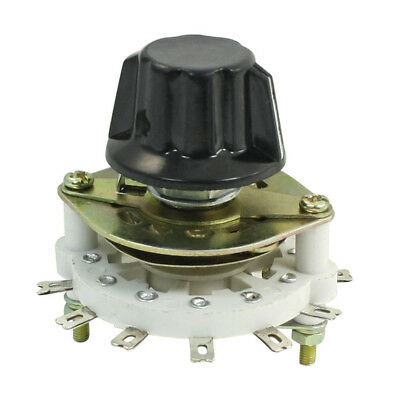 1P6T 1 Pole 6 Throw Rotary Switch Channel Selector for Control Unit M7V1