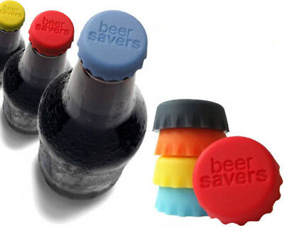 Silicone Bottle Cap Cover Lid Stopper Cork Wine Glass Beer Saver Capsule Fresh