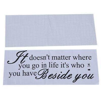 Wall Quote Removable Sticker Decal Mural It Doesn't Matter Where You Go  BF