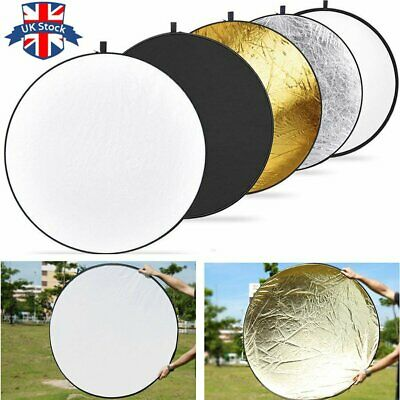 "UK STOCK !Godox 5in1 110cm 43"" Light Diffuser Round Reflector Disc+Carrying Bag"