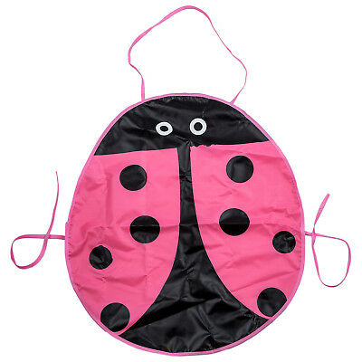 Waterproof Painting Apron Pattern of beetle for the children's craft Costum W4W6