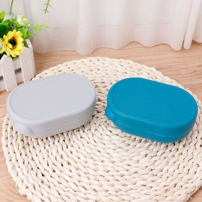 Portable Home Bathroom Shower Soap Box Dish Plate Holder Case Travel Container