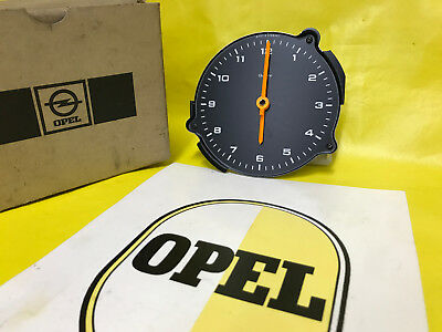 NEU ORIGINAL Opel Uhr Senator A Monza Zeituhr VDO Quarz Made in Germany Clock GM