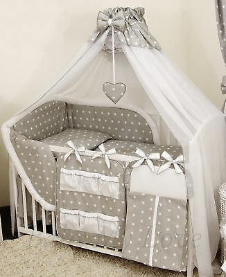 STUNNING /BABY/COT/COTBED BIG CANOPY DRAPE/585cm wide + HOLDER/ROD