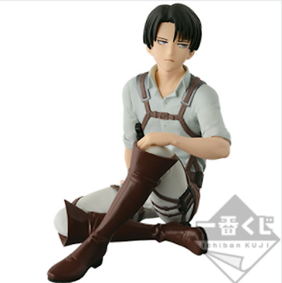 Attack on Titan Ichiban Kuji 2017 BANPRESTO Prize G Levi Figure 7cm From JAPAN