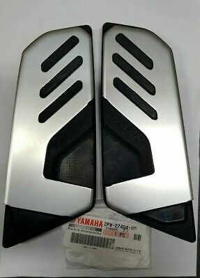 Coppia Pedane Pedana Food Boards Originali Yamaha Tmax 530 2017 2018