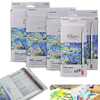 24 /36 /48 /72 Marco Fine Art Drawing Oil Non-toxic Pencils For Artist Sketch GR