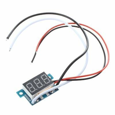 Digital Mini Ammeter Ammeter of power indicator LED Red 0-5A panel meter D9D4