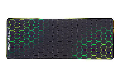 Gaming Dynamics Huracan Extended Green Mouse Mat Pad PC Laptop Mouse Desktop Des