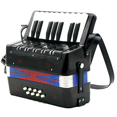 17-Key 8 Bass Mini Accordion Musical Toy for Kids BF