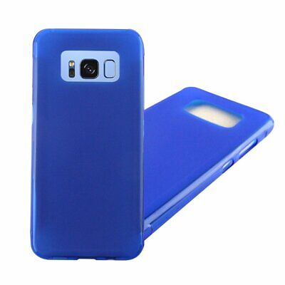 Samsung GALAXY S8 Active HYBRID Rubber Silicone TPU Protective Clear Case Cover