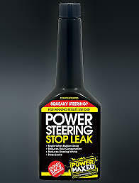 Power Maxed Power Steering Stop Leak 375Ml Concentrated! Fix  Squeaky Steering