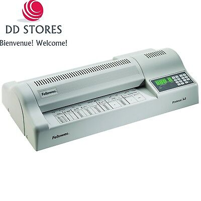Fellowes 5709001 Proteus Plastifieuse de Documents A3 250 microns Gris