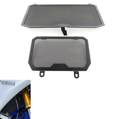 For YAMAHA YZF-R1 R1M 2015-2017 Aluminum Radiator Guard Covers Oil Cooler Guard