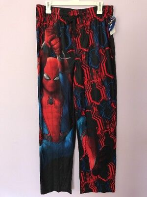 Marvel Spiderman Lounge Sleep Pajama PJ Pants Mens Size M Medium NWT