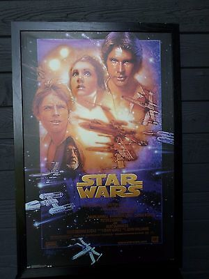 Star Wars  Lucas Film Print in Frame
