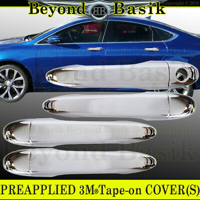 FOR 2015 2016 2017 CHRYSLER 200 CHROME SIDE MIRROR COVER COVERS PAIR FAST SHIP