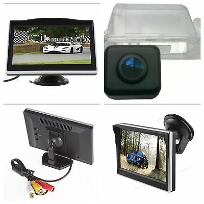 "Reverse Rear Camera 5"" Kit For New Shape Ford Transit & Custom Van 2012-onwards"