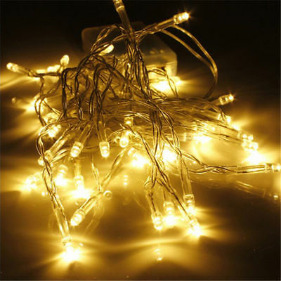 10/20/30/40 Aa Battery Operated Led String Lights For Xmas Garland Party Wedding