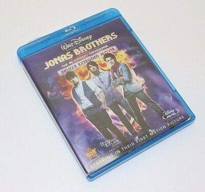 Jonas Brothers The 3D Concert Experience Region A (Blu-ray Disc Set, 2009)