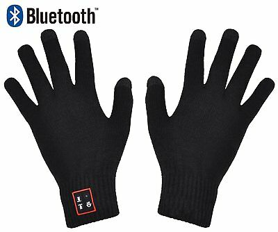 XIKEZAN Knit Bluetooth Gloves Touch Screen Mittens Hands Free Phone Headset with