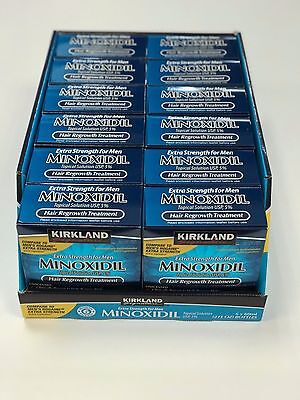 72 MONTH KIRKLAND MINOXIDIL SOLUTION 5% (12 x 6 MONTH BOXES) - EU SUPPLY