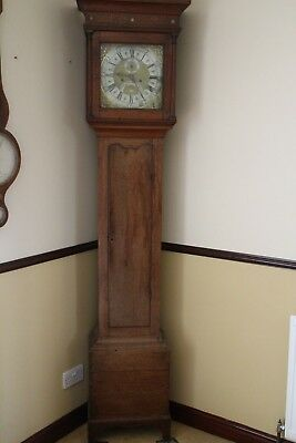 Eight day longcase clock by the famous Henry Deykin Worcester registered num1065