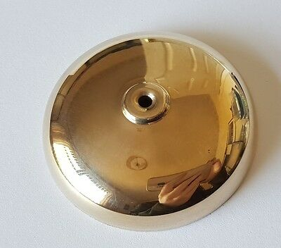French Clock Bell Polished Brass 64mm Diameter 15mm Height